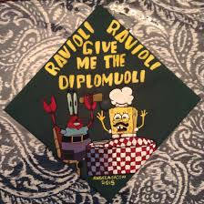 College Graduation Cap Decoration Ideas Graduation Cap Spongebob Classof2015 Gradcap Caps