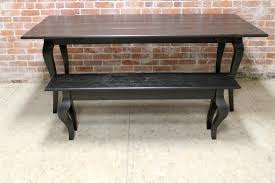 Drop Leaf End Table Reclaimed Oak Drop Leaf Table In Black Wash Ecustomfinishes