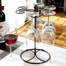 wine glass rack diy stemware wood holder under cabinet bar new