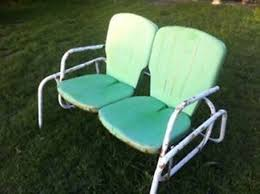 retro metal lawn chairs and gliders thedigitalhandshake furniture