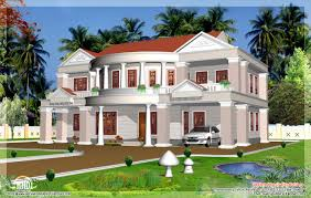 big house design feet big house elevation kerala home design floor plans home