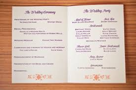 design wedding programs chebria s wedding invitation wedding program tags college