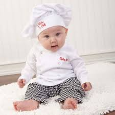 infant boy costumes 2017 baby boy costume infant toddler chef cotton suits 3