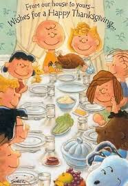 happy thanksgiving snoopy happy thanksgiving