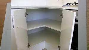 corner kitchen cabinet corner kitchen base cabinet sink youtube