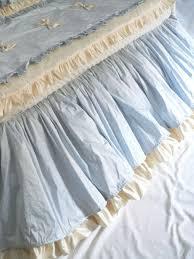 handmade baby boy u0027s blue bliss crib bedding by caty u0027s cribs