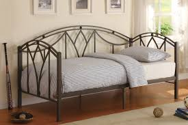 Metal Bedroom Furniture Bedroom White Metal Day Bed F 9235 Discounted Furniture