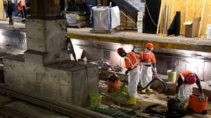 Amtrak Status Maps Amtrak U0027s Penn Station Repairs On Pace For Labor Day Weekend