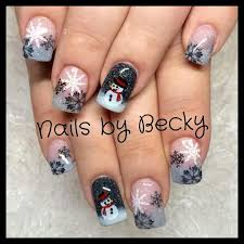 361 best holiday acrylic nails images on pinterest holiday nails