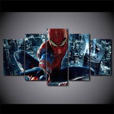 terrific trendy wall spiderman wall decoration design decor compact spiderman room decorations wall canvas painting home decor spiderman party wall decorations