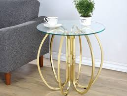 Brass Accent Table Accent Tables Caravana Furniture