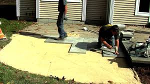 paver patio price how to install a rivenstone yorkstone patio youtube