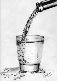 disegni bicchieri un bicchiere d acqua opera d arte di marilena pisano