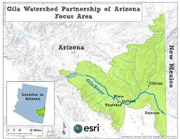 Arizona Aquifer Map by Gila Watershed Partnership Tamarisk Coalition