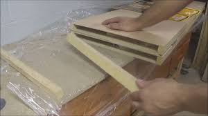 how to cut and resize a hollow bi fold closet door for install at