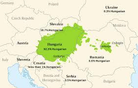 Europe Language Map by Dist Of Hungarian Language Europe U2022 Mapsof Net