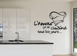 cuisine amour l amour cuisine wall stickers m and m home decor