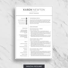 Ats Friendly Resume Template 10 Best Etsy Resume Templates Graphicadi