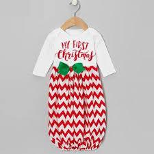 my christmas baby girl buy 1st christmas sleep sack blanket pajamas for baby