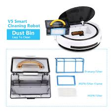 Cleaning Robot by Ilife V5 Smart Cleaning Robot Floor Cleaner Auto Vacuum Microfiber