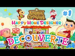 Home Designer Animal Crossing Happy Home Designer Découverte Du Jeu Youtube