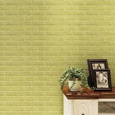 3d Wall Decor by Aliexpress Buy Oujing 3d Wall Sticker Brick Pe Foam