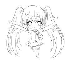 chibi coloring pages hatsune miku coloringstar