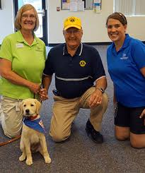 Dogs Helping Blind People Lions Clubs Leader Dogs For The Blind