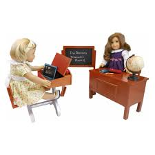 The Desk Set Play Queen U0027s Treasures 18 In Doll American Teacher Desk With
