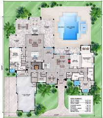 spacious contemporary florida house plan 86025bw architectural spacious contemporary florida house plan 86025bw floor plan main level