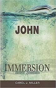 immersion bible studies carol j miller 9781426709845
