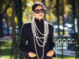 fashion pearls necklace images The best modern pearl jewelry to shop now who what wear jpg