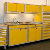 custom aluminum garage u0026 shop cabinets moduline