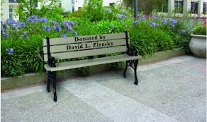 memorial bench grand memorial benches kirbybuilt products