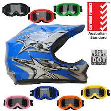 youth xs motocross helmet blue motocross helmet goggles kids youth xs s m l xl dirt
