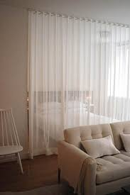 Diy Room Divider Curtain Strongly Considering Sheer Curtains As Dividers In The New Space