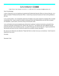 Cctv Experience Resume Hart Security Officer Cover Letter