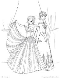 frozen coloring pages print coloring book