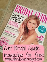 wedding magazines free by mail free wedding magazines by mail bridal guide magazine