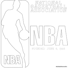 nba logos coloring pages coloring pages to download and print