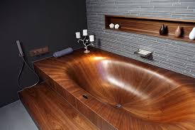 wooden bathtubs timber baths and basins the owner builder network