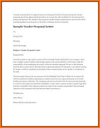 17 tender application letter sample g unitrecors