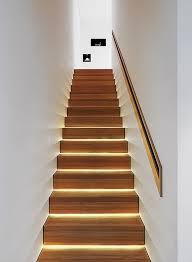 indoor stair lighting ideas illuminated staircase of a different type i like it stair d