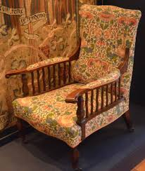 Extraordinary Chair Upholstery Arm Chair By George Jack From The 1890s With William Morris