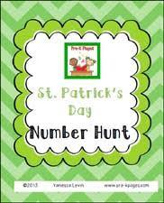 st patrick u0027s day math activities