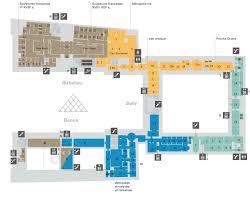 louvre floor plan plans du louvre