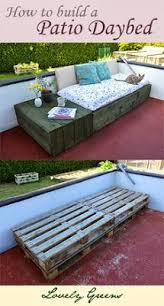 Diy Outdoor Daybed Best 25 Patio Bed Ideas On Pinterest Outdoor Furniture