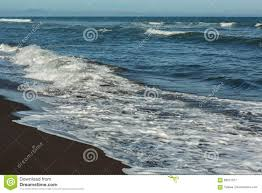 beaches with black sand khalaktyrsky beach with black sand pacific ocean washes kamchatka
