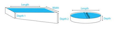 Average Backyard Pool Size Volume Calculator Swimmingpool Com