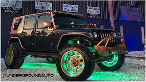 jeep wrangler custom lights jeep wrangler wheel lights set